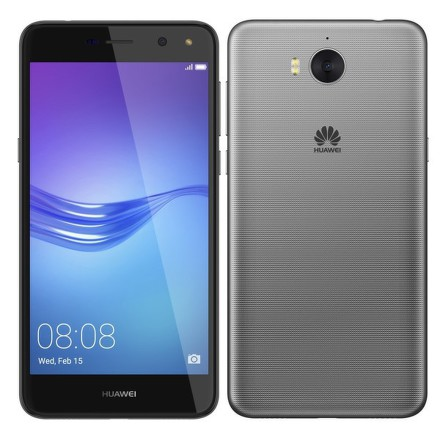 Mobilní telefon Huawei Y6 2017 Dual SIM - šedý