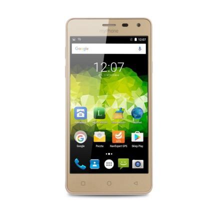 Mobilní telefon myPhone PRIME PLUS - zlatý