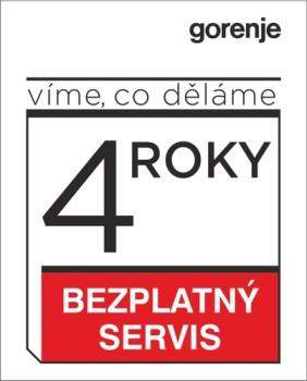 Prodloužená záruka Gorenje - Extra servis - 4 roky
