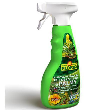 Hnojivo Agro FLORIA pro zelené rostliny a palmy 300 ml