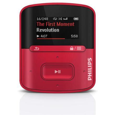 MP3 přehrávač Philips Raga SA4RGA04RF Funkce FullSound