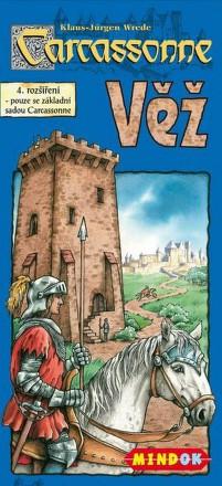 Hra Mindok Carcassonne - rozšíření 4 (Věž)