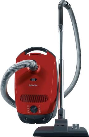 Miele Classic C1 červený + dárek Miele GN 3D Efficiency zdarma