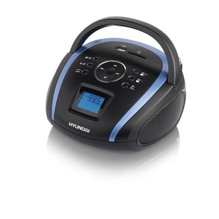 Radiopřijímač Hyundai TR 1088 BT3BBL, MP3/USB/SD, černý/modrý