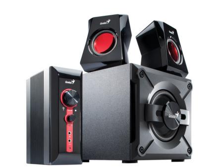 Reproduktory Genius GX Gaming SW-G2.1 1250 - černé/červené