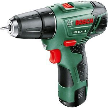 Aku šroubovák Bosch PSR 10,8 LI-2 upgrade 1 bat