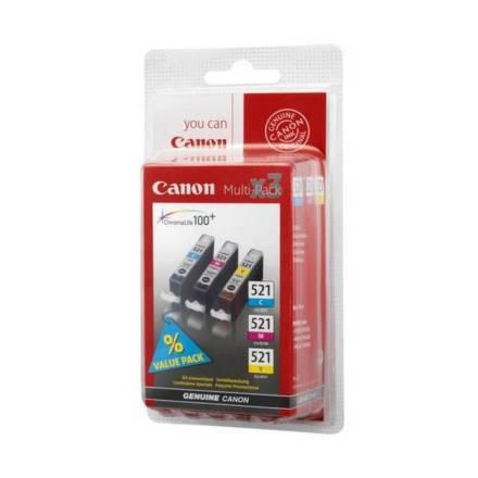 Inkoustová náplň Canon PG-540 / CL-541 originální - černá/červená/modrá/žlutá