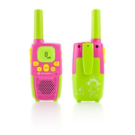 Vysílačky Gogen MAXI VYSILACKY P, růžovo-zelená barva