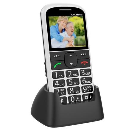 Mobilní telefon CPA Halo 11 - bílý