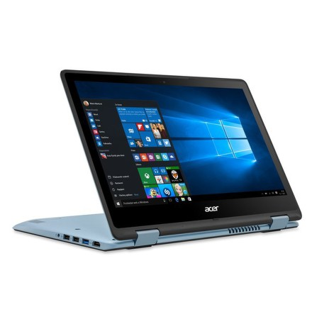 "Ntb Acer Spin 1 (SP111-31-C79C) Celeron N3450, 4GB, 32GB, 11.6"""", Full HD, bez mechaniky, Intel HD, BT, CAM, W10 - černý/modrý"